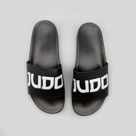 Judo Unisex Flip Flops - Black